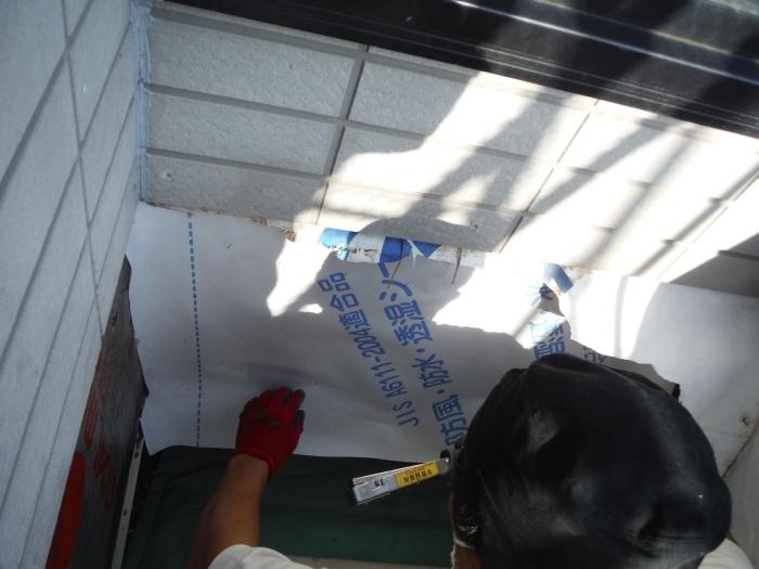 塗り替えとバルコニー補修 ~壁中の雨漏り状況。_d0165368_05252940.jpg