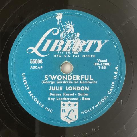 1月 新着レコードのご紹介  J.ロンドンのリバティー盤_a0047010_18294410.jpg