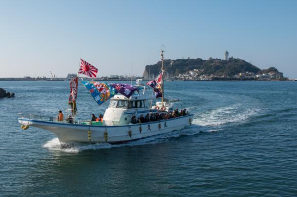 湘南の船祝い 腰越漁港_f0217933_18341408.jpg