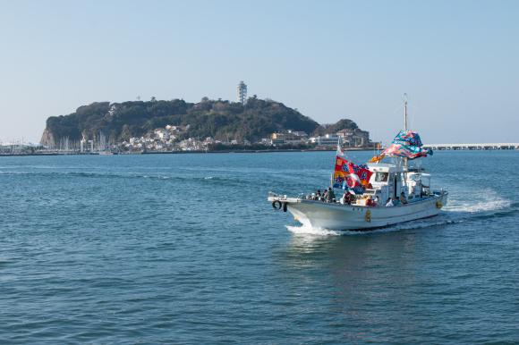 湘南の船祝い 腰越漁港_f0217933_18375708.jpg