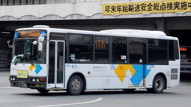 熊本都市バス~エアロミディMJノンステップバス_a0164734_13521625.jpg