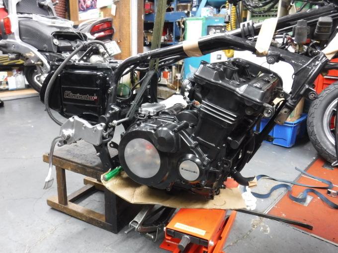 kawasaki ZL900 エンジンオーバーホールでござる。その11_a0163159_23013416.jpg