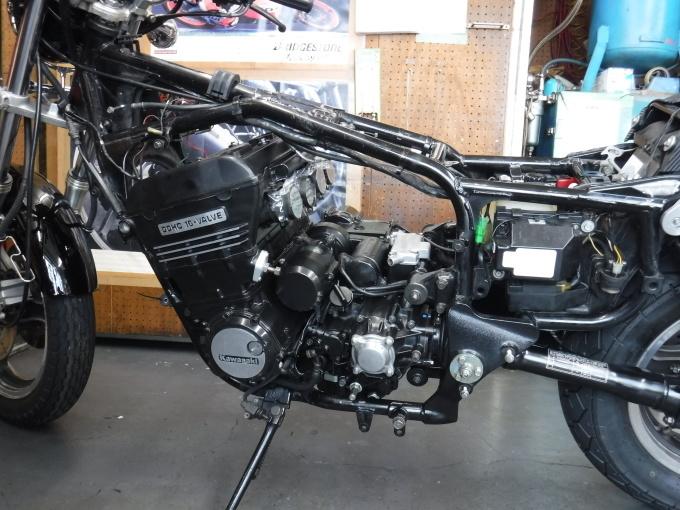 kawasaki ZL900 エンジンオーバーホールでござる。その11_a0163159_23025930.jpg