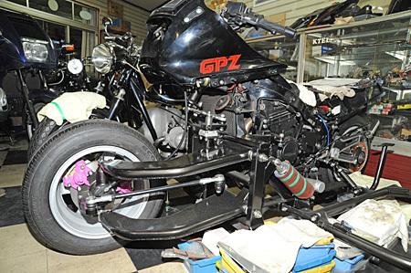 GPZ1000RX + クマガヤサイドカー_e0218639_19035975.jpg