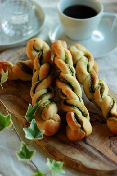 日々のパン 抹茶ツイスト_b0225758_17342523.jpg