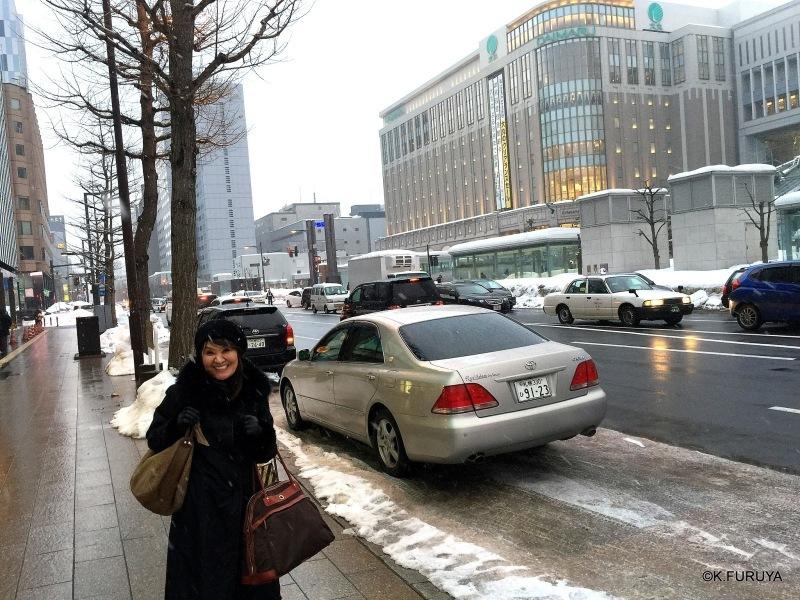 雪の北海道 1 札幌へ♪_a0092659_14104440.jpg