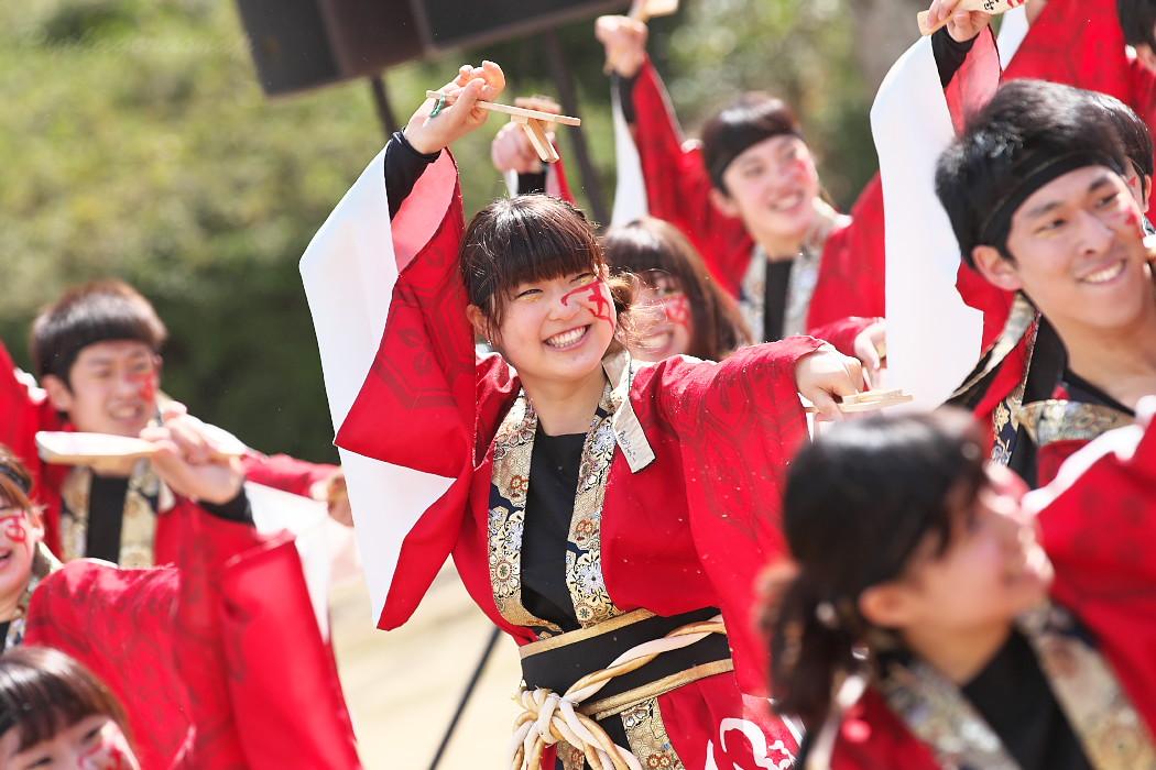 """早稲田大学""""踊り侍"""" @ がんこ祭(浜よさ)2016_c0187584_12285471.jpg"""