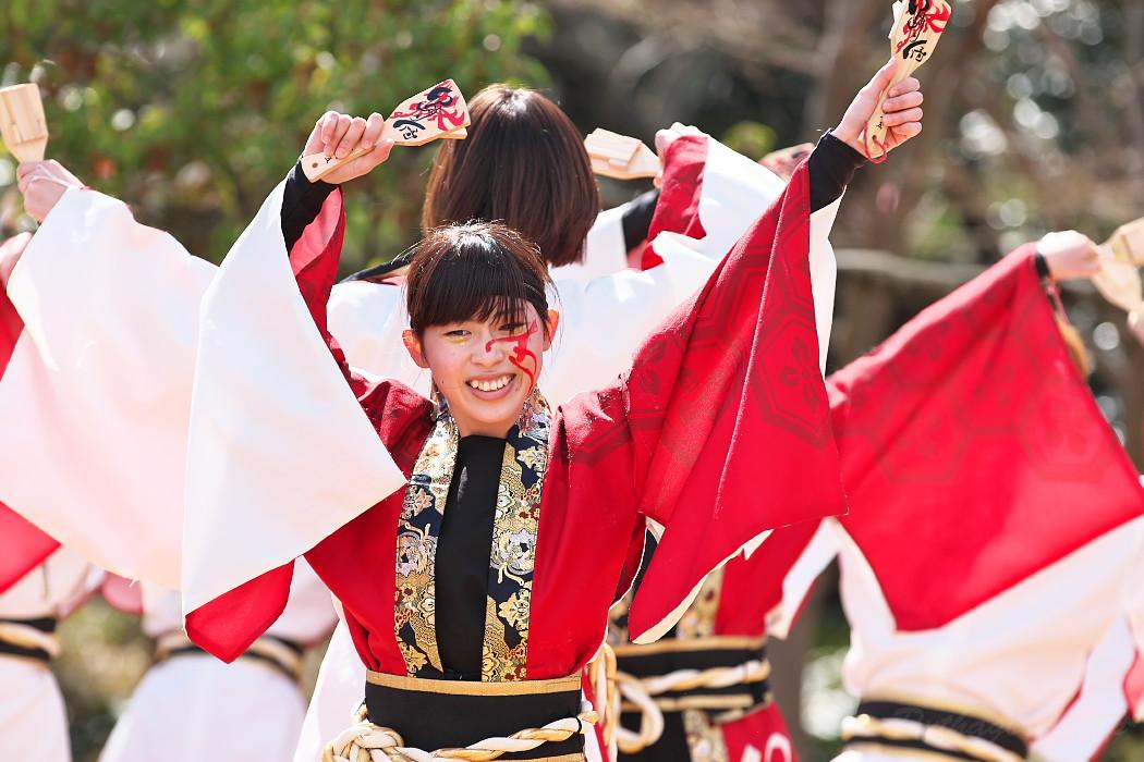 """早稲田大学""""踊り侍"""" @ がんこ祭(浜よさ)2016_c0187584_1229155.jpg"""
