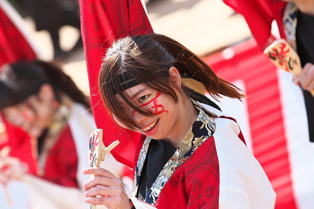 """早稲田大学""""踊り侍"""" @ がんこ祭(浜よさ)2016_c0187584_1229977.jpg"""