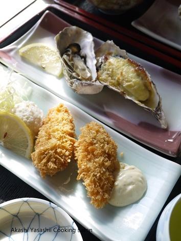 ナポリ菓子と牡蠣_f0361692_12115133.jpg