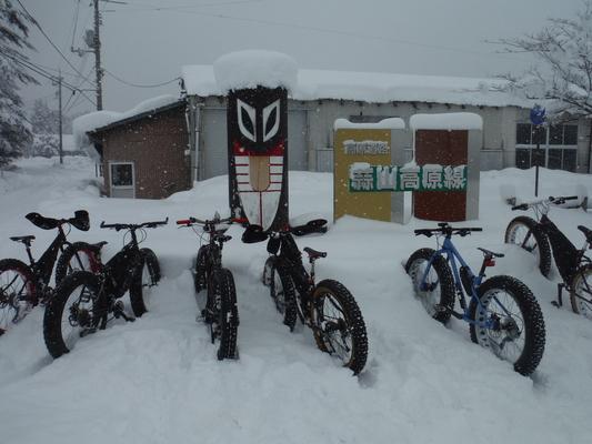 ファットバイク雪上体験試乗会!_c0132901_18442751.jpg