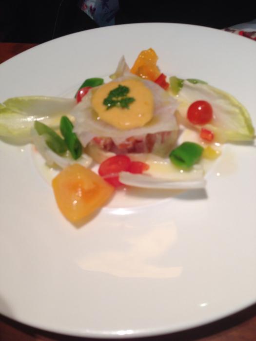 わが家のカリフラワーと京都八百一セイボリーさん京野菜のフレンチ_f0155431_21085709.jpg