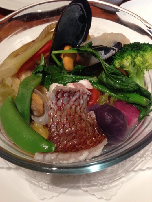 わが家のカリフラワーと京都八百一セイボリーさん京野菜のフレンチ_f0155431_21085937.jpg