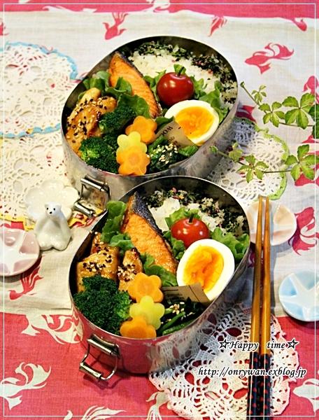 焼き鮭弁当と今週の常備菜♪_f0348032_18025615.jpg