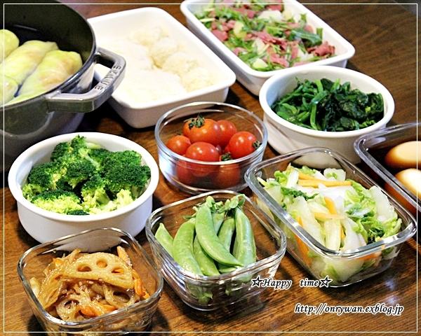 焼き鮭弁当と今週の常備菜♪_f0348032_18495776.jpg