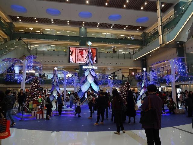 新城市廣場(ニュータウンプラザ)のクリスマスデコレーション (海外旅行部門)_b0248150_14265038.jpg