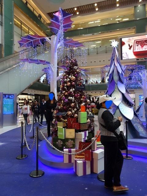 新城市廣場(ニュータウンプラザ)のクリスマスデコレーション (海外旅行部門)_b0248150_14444983.jpg