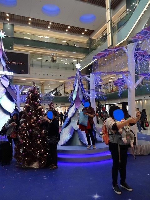 新城市廣場(ニュータウンプラザ)のクリスマスデコレーション (海外旅行部門)_b0248150_14454731.jpg