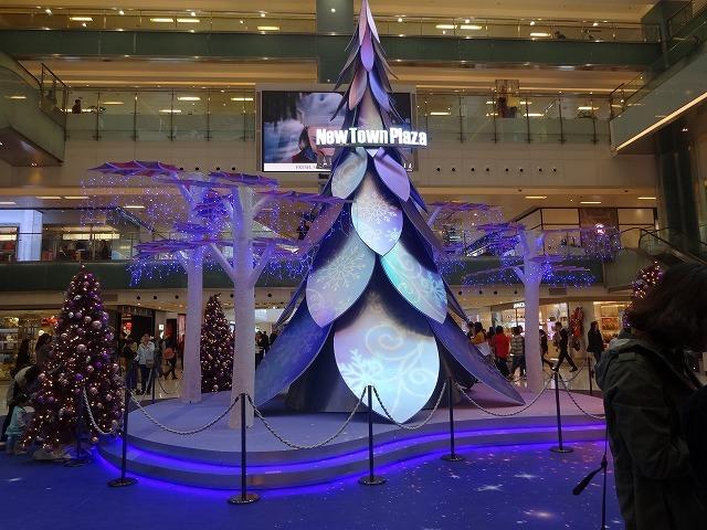 新城市廣場(ニュータウンプラザ)のクリスマスデコレーション (海外旅行部門)_b0248150_14521459.jpg