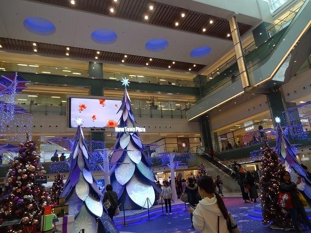 新城市廣場(ニュータウンプラザ)のクリスマスデコレーション (海外旅行部門)_b0248150_15030466.jpg