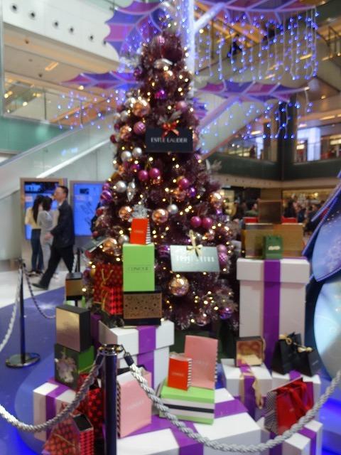 新城市廣場(ニュータウンプラザ)のクリスマスデコレーション (海外旅行部門)_b0248150_15041097.jpg