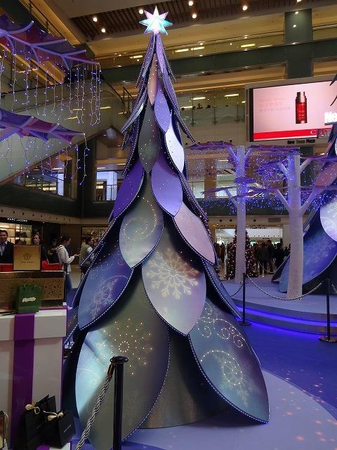 新城市廣場(ニュータウンプラザ)のクリスマスデコレーション (海外旅行部門)_b0248150_15051350.jpg