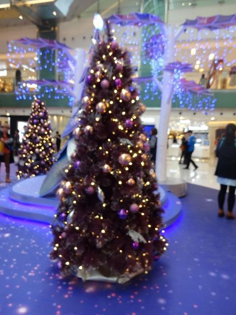 新城市廣場(ニュータウンプラザ)のクリスマスデコレーション (海外旅行部門)_b0248150_15055809.jpg