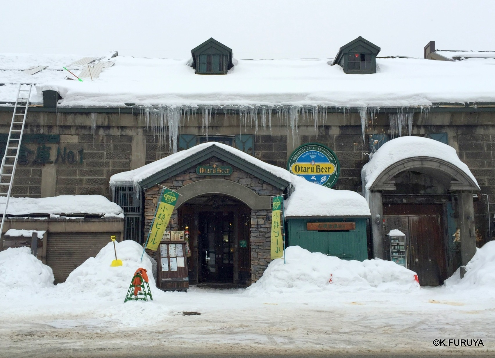 雪の北海道 2  小樽へ_a0092659_21283661.jpg