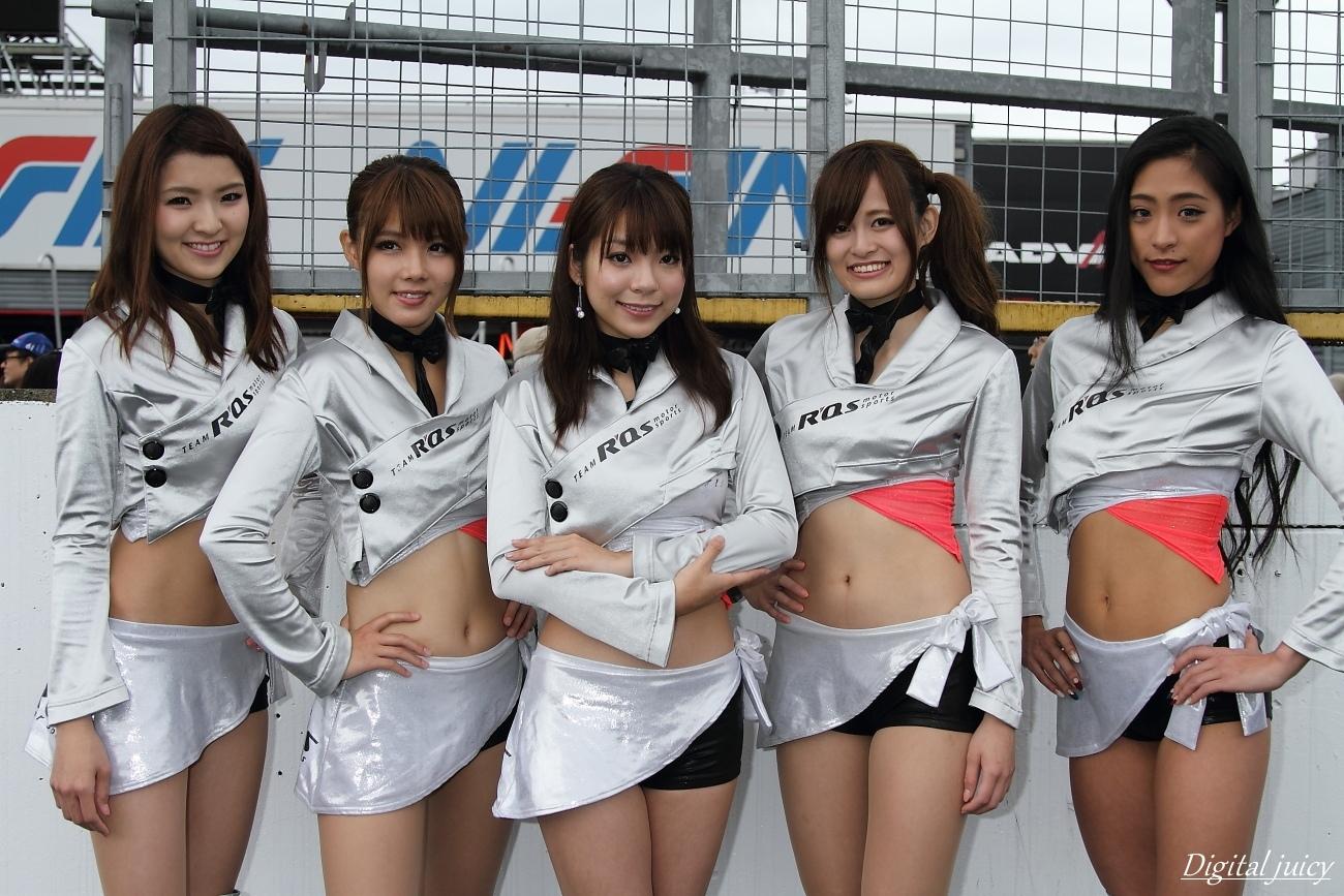 八重樫あやな さん、楠世里菜 さん、仙堂里奈 さん、西原早希 さん、会川真央 さん(R\'Qs RACING GIRLS)_c0216181_21535440.jpg