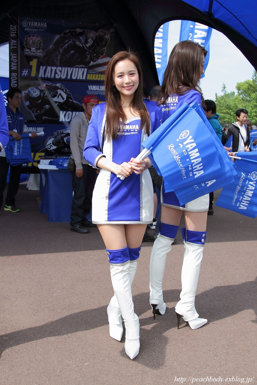 宮内ひかる さん(YAMAHA RACING LADY)_c0215885_22584385.jpg