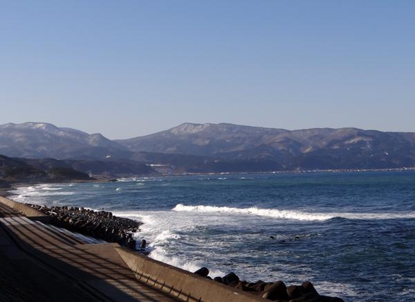 冬の風合瀬海岸にて♪_a0136293_17221727.jpg