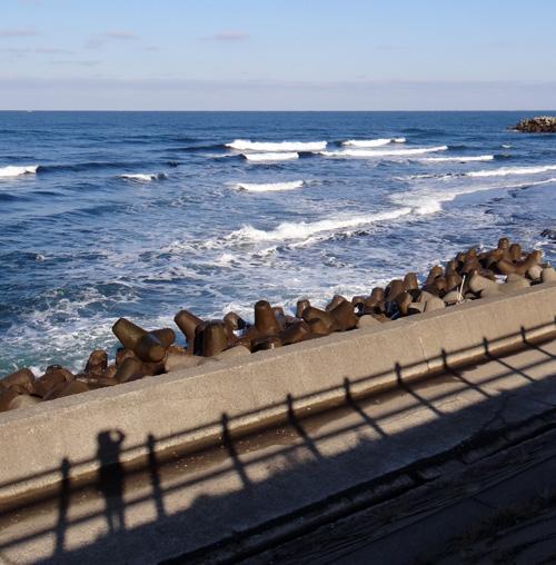冬の風合瀬海岸にて♪_a0136293_173351.jpg