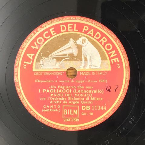 1月 新着レコードのご紹介 デル・モナコの「道化師」_a0047010_19180746.jpg