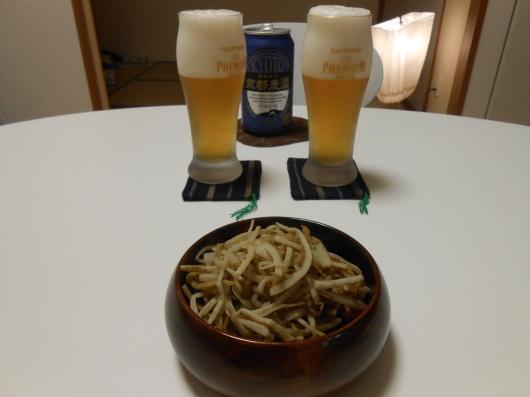 京都のお土産でビールと日本ワインを飲みました。_a0095931_15274444.jpg