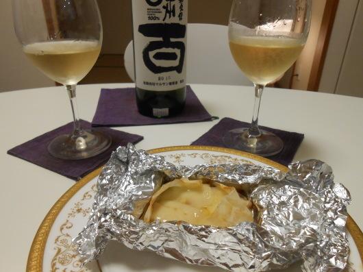 京都のお土産でビールと日本ワインを飲みました。_a0095931_15292218.jpg
