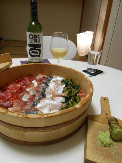 京都のお土産でビールと日本ワインを飲みました。_a0095931_15300047.jpg