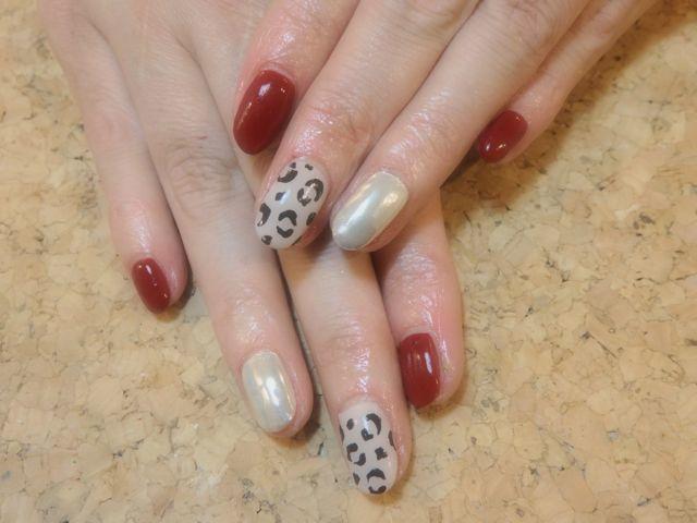 Leopard Nail_a0239065_12370024.jpg