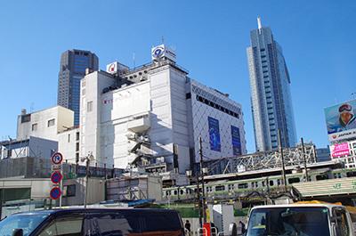 1月10日(火)今日の渋谷109前交差点_b0056983_14445647.jpg