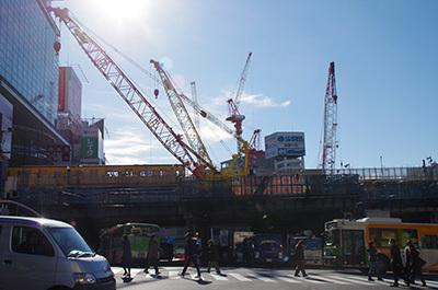 1月10日(火)今日の渋谷109前交差点_b0056983_14445689.jpg
