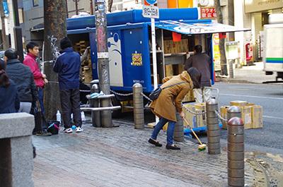 1月10日(火)今日の渋谷109前交差点_b0056983_14445694.jpg