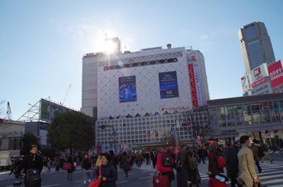 1月10日(火)今日の渋谷109前交差点_b0056983_14450274.jpg