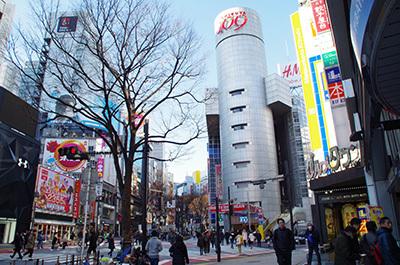 1月10日(火)今日の渋谷109前交差点_b0056983_14450422.jpg