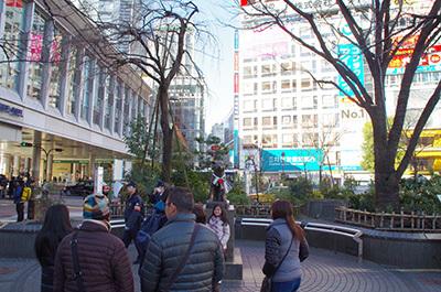 1月10日(火)今日の渋谷109前交差点_b0056983_15071564.jpg