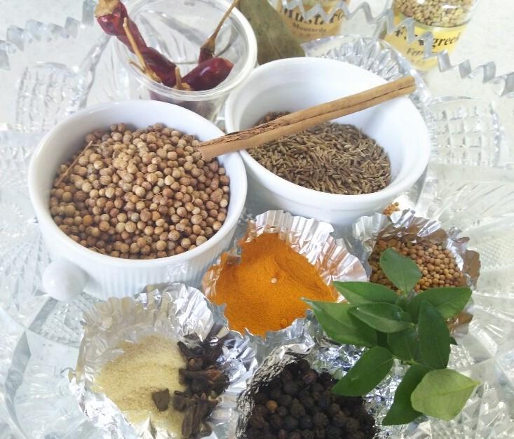 スパイスを使った本場インドのカレー粉作り_f0116297_19342440.jpg