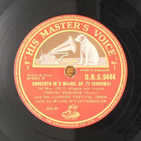 1月 新着レコードのご紹介  フルトヴェングラー&メニューイン_a0047010_16243782.jpg
