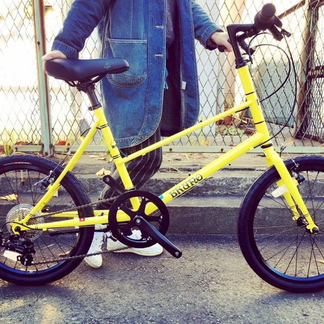 BRUNO 2017 『MIXTE FIAT』ブルーノ ミニベロ ミキスト おしゃれ自転車 自転車女子 自転車ガール_b0212032_21115791.jpg