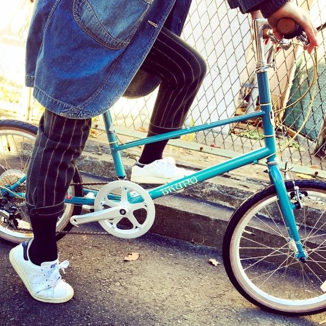BRUNO 2017 『MIXTE FIAT』ブルーノ ミニベロ ミキスト おしゃれ自転車 自転車女子 自転車ガール_b0212032_21124439.jpg