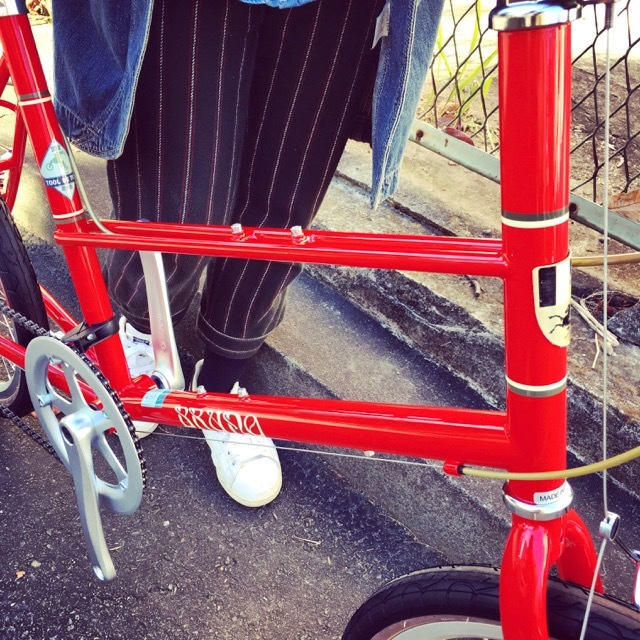 BRUNO 2017 『MIXTE FIAT』ブルーノ ミニベロ ミキスト おしゃれ自転車 自転車女子 自転車ガール_b0212032_21125484.jpg
