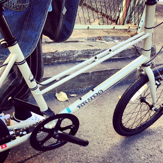 BRUNO 2017 『MIXTE FIAT』ブルーノ ミニベロ ミキスト おしゃれ自転車 自転車女子 自転車ガール_b0212032_21130749.jpg