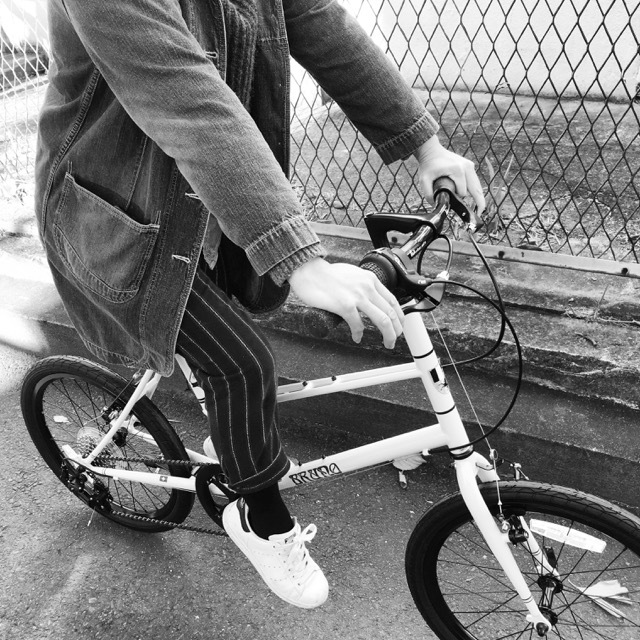 BRUNO 2017 『MIXTE FIAT』ブルーノ ミニベロ ミキスト おしゃれ自転車 自転車女子 自転車ガール_b0212032_21132292.jpg